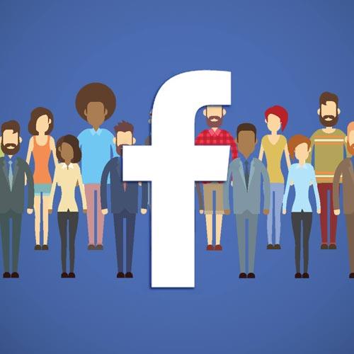 Facebook promotie voor winkelcentrum