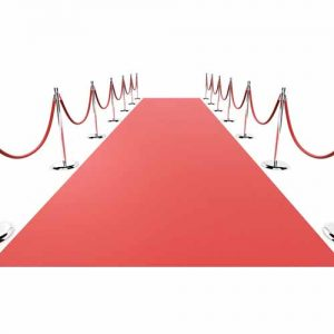 Rode loper tapijt