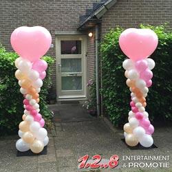 Entertainment voor feestje ballondecoratie