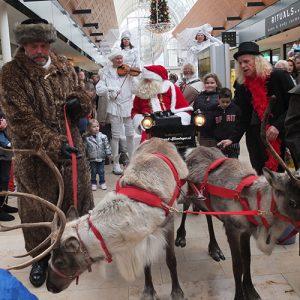 Arrenslee kerst kerstman huren inhuren