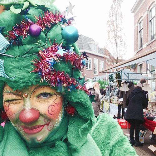 Levende kerstboom inhuren kerstactiviteit