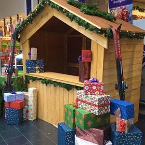 Kersthuisje huren kraam kerst inhuren kerstmarkt