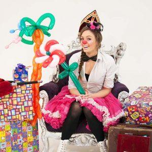 Ballonnen Sinterklaasshow show