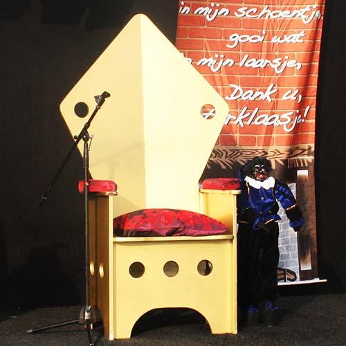 Troon Sinterklaas sinterklaastroon huren inhuren
