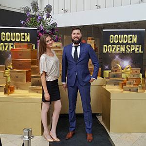 winkelcentrumpromotie Gouden Dozen Spel Consumentenactie