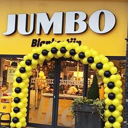 Ballondecoratie Ballonnenboog Jumbo