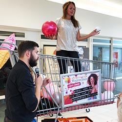 Consumentenactie Acties Grote Winkelwagen Spel