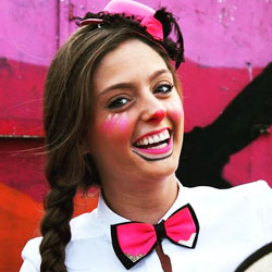 Entertainment clown Kimmy