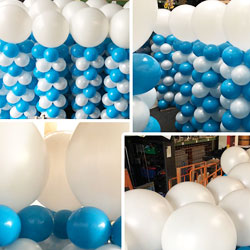 Entertainment ballondecoratie