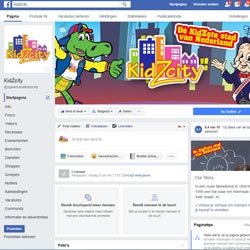 Facebook social media beheer kidzcity