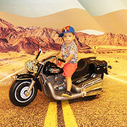 Harley Davidson Fotoactie direct print