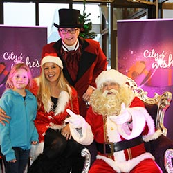Kerst entertainment Kerstman Meet Greet