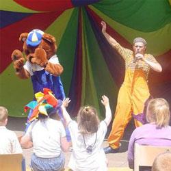 Sinterklaasshows voor jonge kinderen