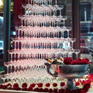 Champagnetoren inhuren huren