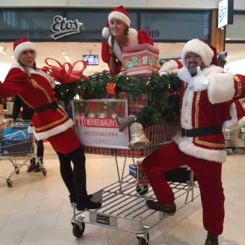 Consumentenactie winkelcentrumpromotie