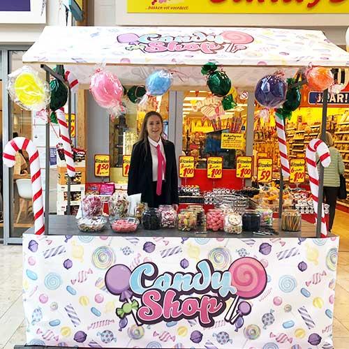 Candy Shop Snoepkraam Gratis Snoepzakje