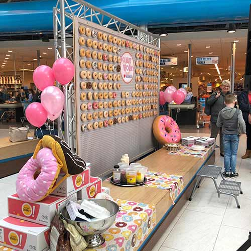 Donut wand do not worry moederdag activiteit