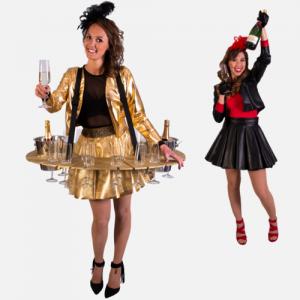 Champagne dames Hostesses promotieteam